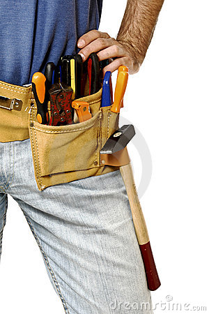 Free Detail Of Toolbelt On Handyman Stock Photos - 11414913