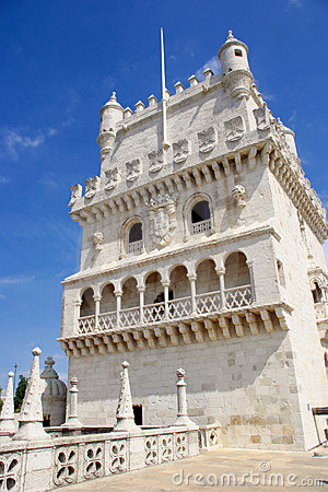 Free Detail Of Torre De Belém Royalty Free Stock Photography - 788767