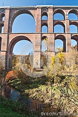 Free Detail Of World Largest Brick Bridge Goltzschtalbrucke Near Plauen City Stock Photos - 62158203