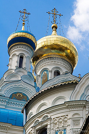 Detail of orthodox church