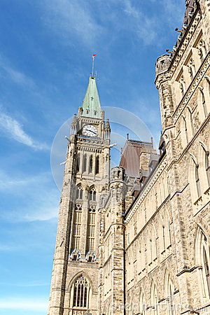 Detail of Parliament of Canada