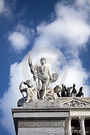 Detail of Piazza Venezia