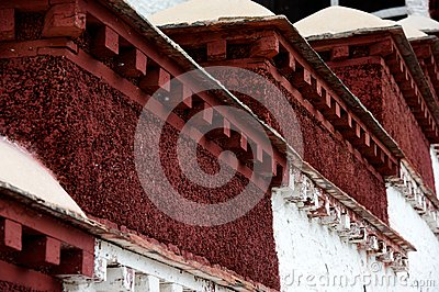 Detail of The Potala Palace