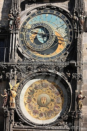 Detail of Prague Astronomical Clock