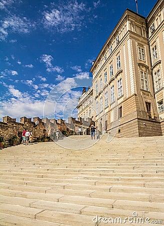 Detail of the Prague Castle