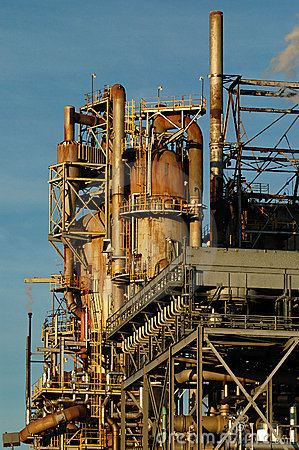 Detail of a refinery 9