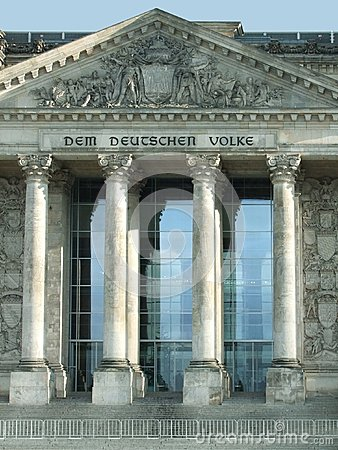 Detail of the Reichstag