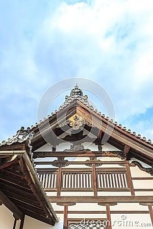 Detail roof at Kinkakuji kyoto