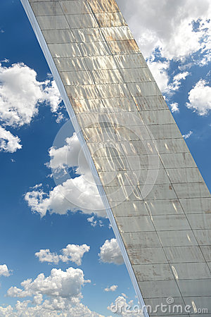 Detail of Saint Louis Arch