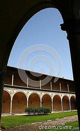 Detail of Santa Croce church