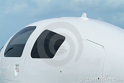 Detail of small aircraft