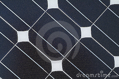 Detail of Solar Panel Energy