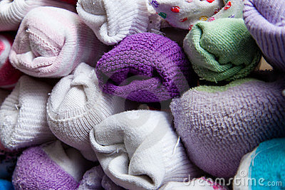 Detail of Sorted Socks