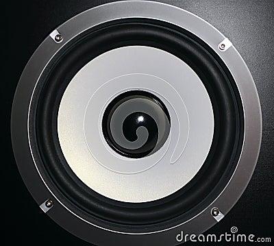 Detail of a speaker