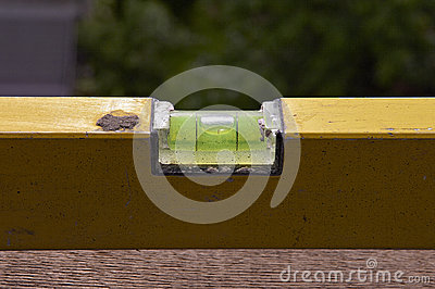 Detail of spirit level