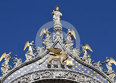 St Mark and Angels, Venice