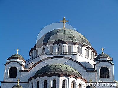 Detail of St. Sava Church