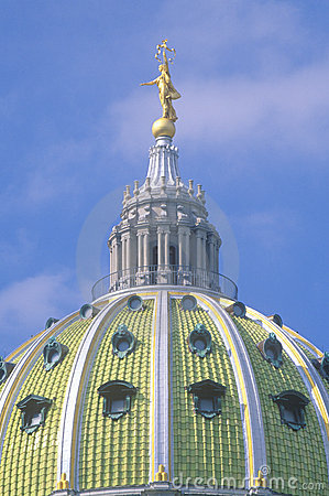 Detail of State Capitol of Pennsylvania