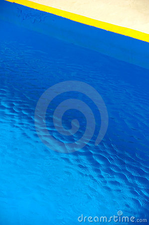 Detail of swimming pool, abstract