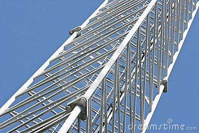 Detail of telecommunication tower