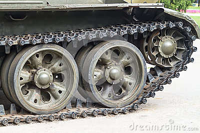 Detail tracked vehicle