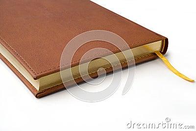 Detail van een notitieboekje