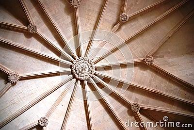 Detail van Mosteiro Dos Jeronimos, Lissabon
