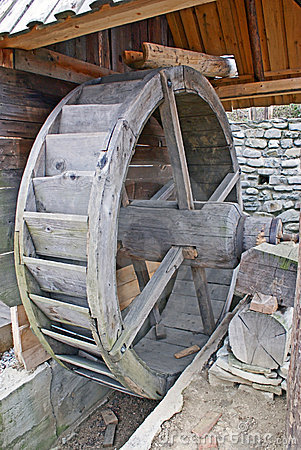 Detail of an watermill