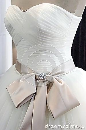 Wedding dress. Detail-8
