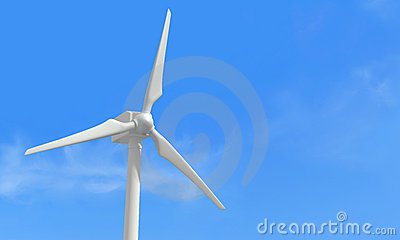 Detail of a wind turbine