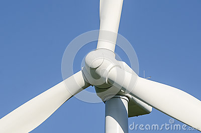 Detail of Windmills to generate wind power