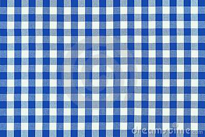 Detailed blue picnic cloth