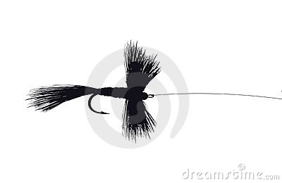 Detailed Fishing Fly