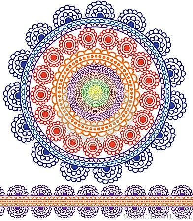 Detailed Mandala Design