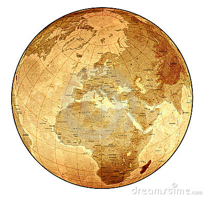 Free Detailed Old Globe Stock Images - 898634