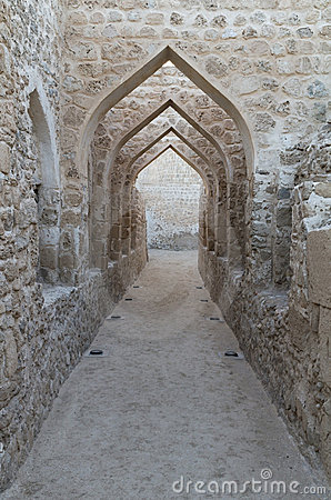 Details of Bahraini fort