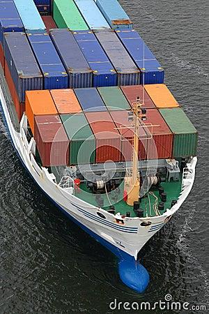 Details of a cargo ship