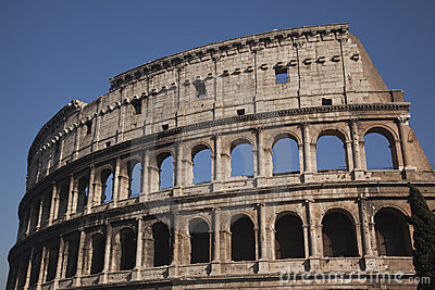 Details Colosseum Rome Italy