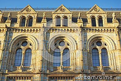 Details fönster för national för det historielondon museet