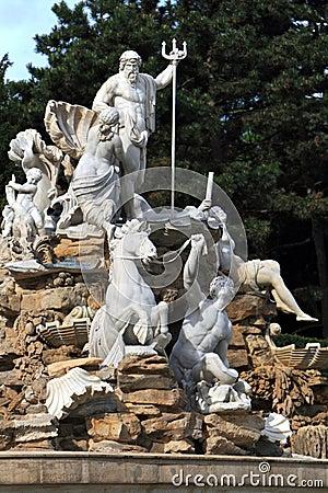Details Of Fountain,Vienna