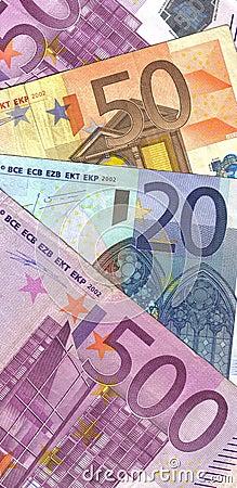Details four banknotes