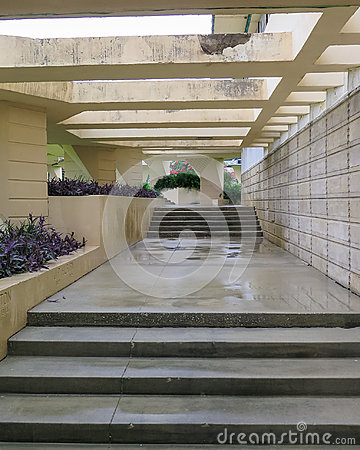 Free Details Frank Lloyd Wright Lakeland College Florida Southern Royalty Free Stock Photography - 96571147