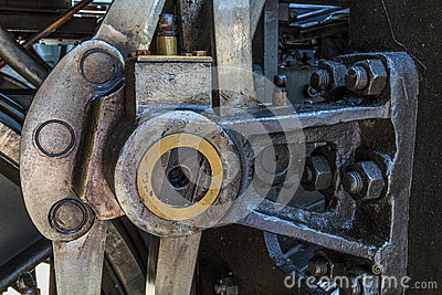 Details of old greasy machinery