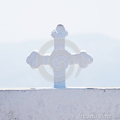 Details of orthodox Greek cross