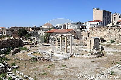 Details of roman agora