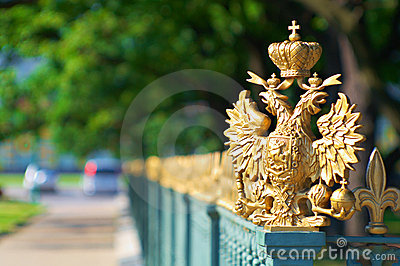Details of the Russian city of St Petersburg