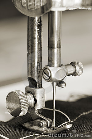 Details of sewing-machine