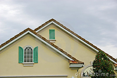 Details of Shutters,Window and Roofline