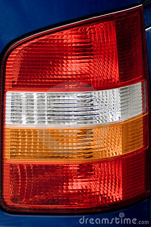 Details of vehicle taillight