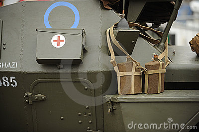 Details of WW2 tank
